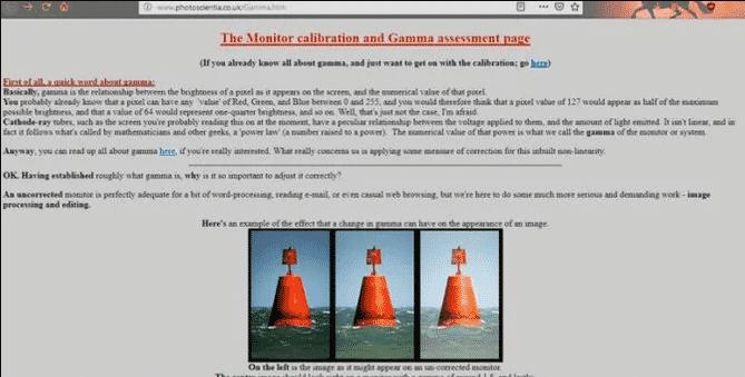 Evaluación Gamma de Photoscientia
