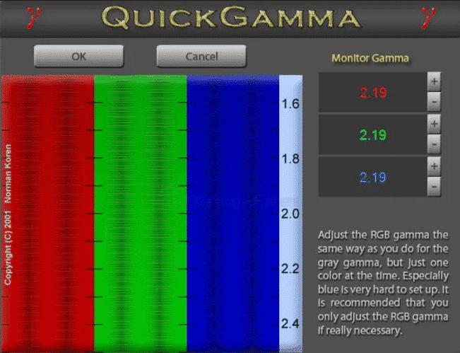 QuickGamma