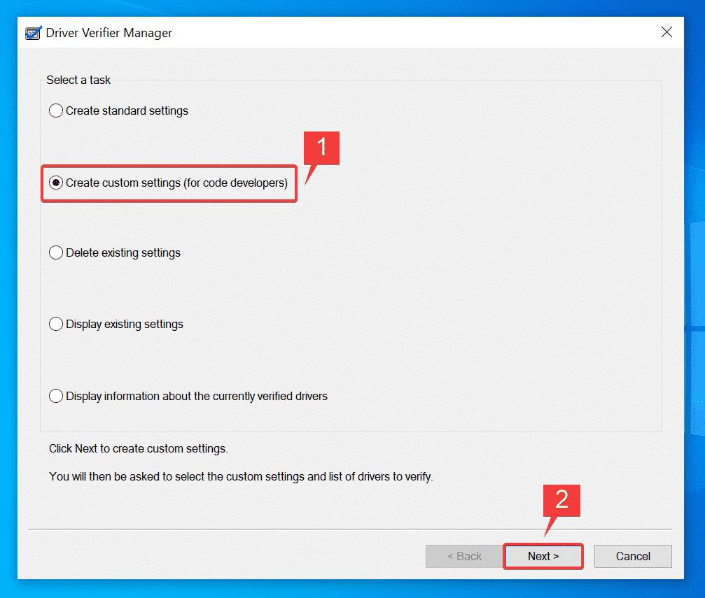 Crear configuraciones personalizadas (para desarrolladores de código)