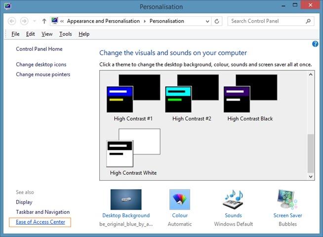 Desactivar la vista instantánea en Windows 7 o Windows 8 picture2