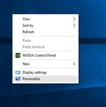 Abra la configuración del menú Inicio de Windows 10