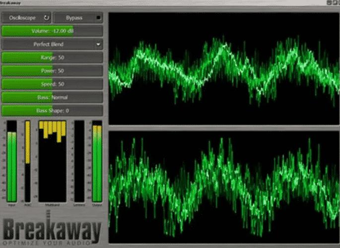 Potenciador de audio Breakaway