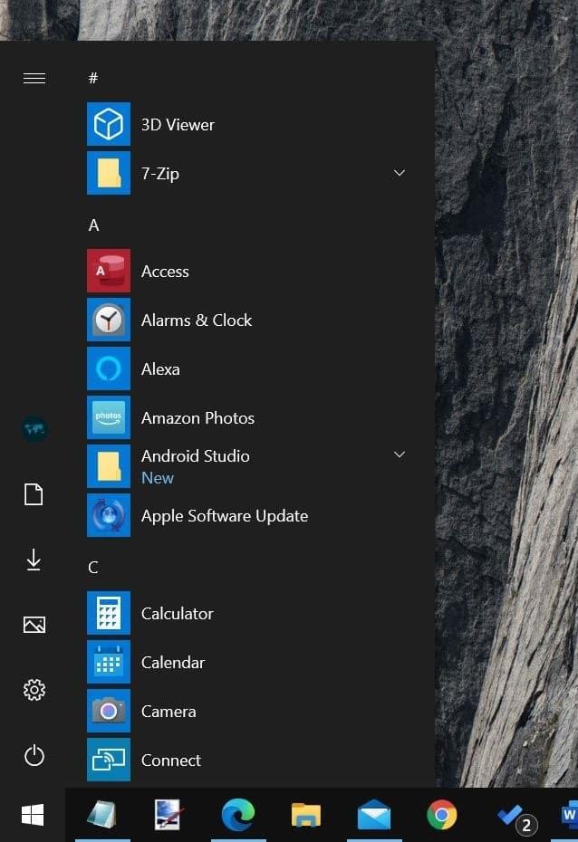 obtener el menú de inicio clásico en Windows 10 pic05