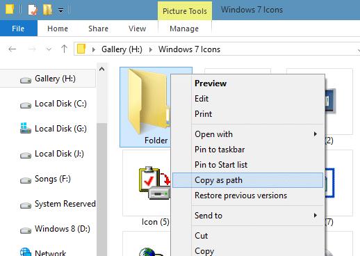 Iconos de carpeta de estilo de Windows 7 en Windows 10 step05