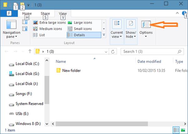 Iconos de carpeta de estilo de Windows 7 en Windows 10 step06