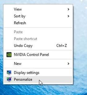 Cambiar el tema de escritorio predeterminado en Windows 10