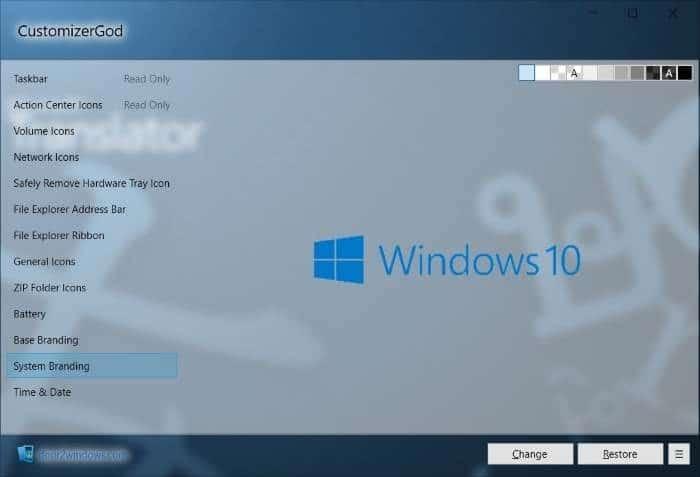 Cambiar los iconos de Windows 10 pic2