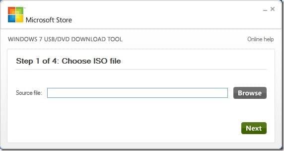 Herramienta gratuita para crear USB de arranque a partir de un archivo ISO