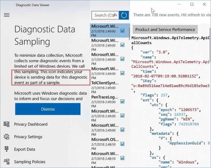 compruebe si Microsoft está recopilando datos de su PC pic3