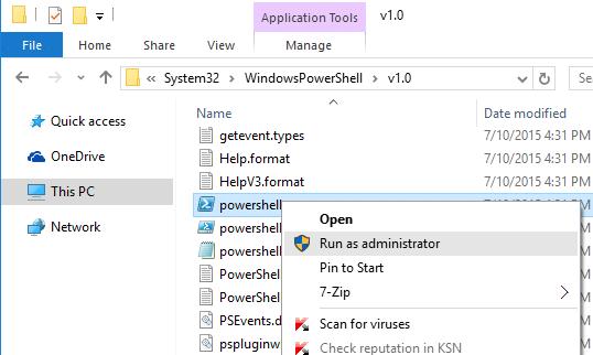 El menú de inicio no funciona Windows 10 fix2