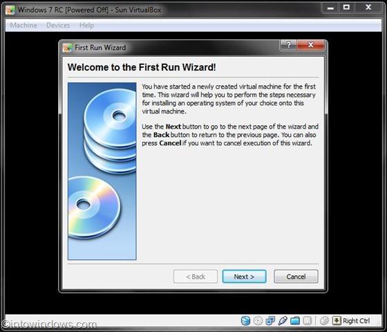 instalar Windows 7 en virtualbox