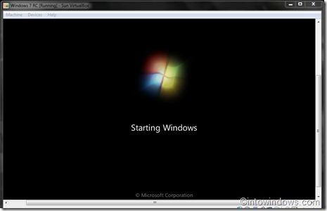 instalar Windows 7 en virtualbox 9