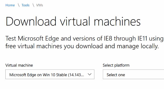 Microsoft Edge para Windows 7 y Windows 8.1 pic1