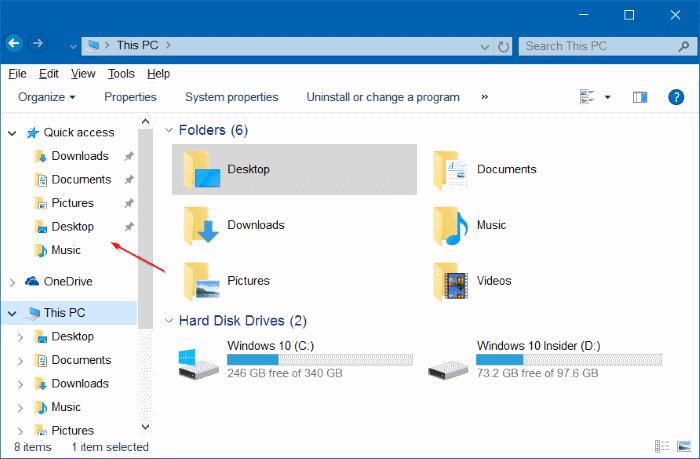 hacer que el Explorador de archivos de Windows 10 se vea como Windows 7 pic2