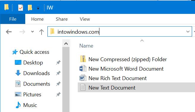 Consejos y trucos del explorador de archivos de Windows 10 pic5