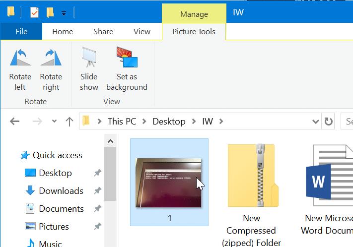Consejos y trucos del explorador de archivos de Windows 10 pic6