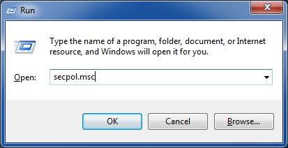 Corregir el botón de apagado que falta en la pantalla de inicio de sesión de Windows 7 paso 1
