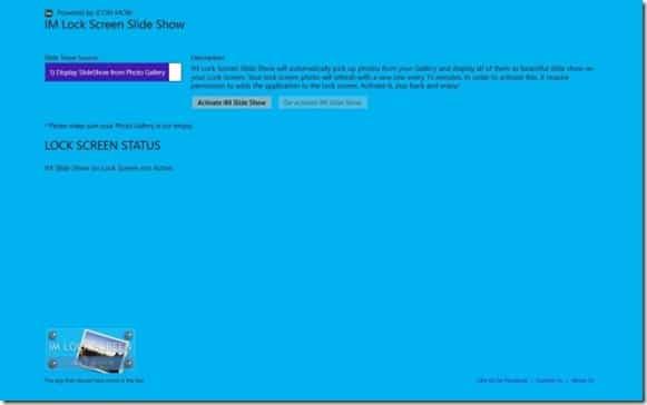 Girar la pantalla de bloqueo de Windows 8