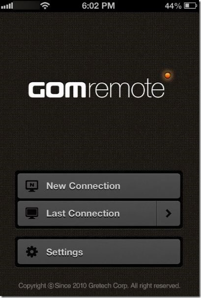 Controle GOM Media Player desde Phone Picture3