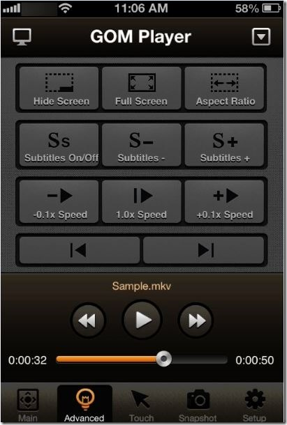 Controle GOM Media Player desde Phone Picture2