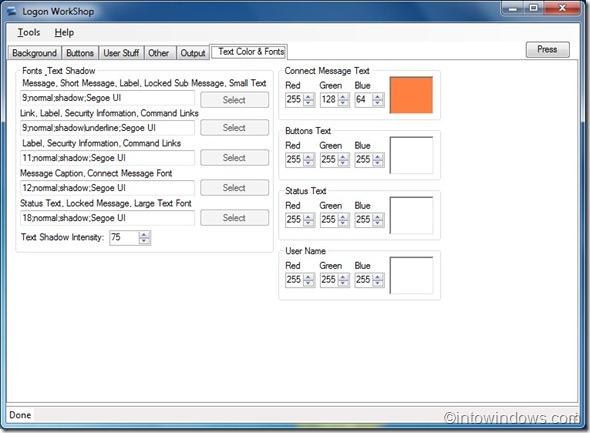 Taller de inicio de sesión de Windows 7