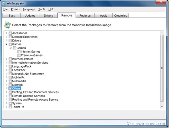 WinIntegrator paraWindows7