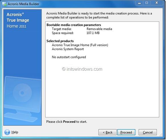 Arranque Acronis True Image desde una unidad flash USB Paso 6