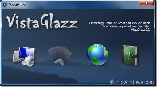 VistaGlazz para Windows7