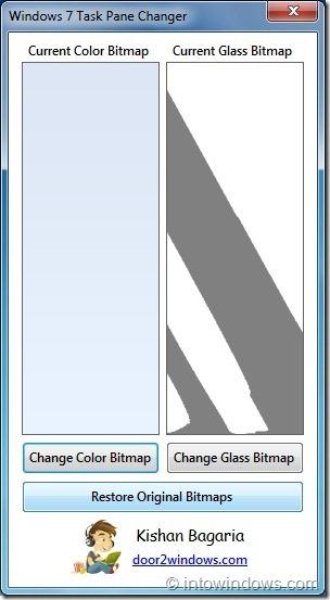 Cambiador de panel de tareas de Windows 7