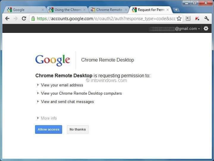 Cómo utilizar la aplicación de escritorio remoto de Google Chrome para acceder de forma remota y compartir la computadora