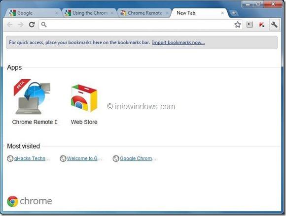 usar el escritorio remoto de Chrome step4