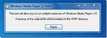 Ejecute varias instancias de Windows Media Player