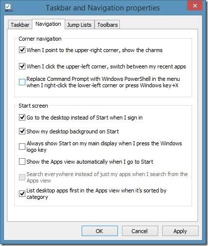 Agregue el símbolo del sistema de administrador al menú de usuario de Win X Power en Windows 81 Imagen 1