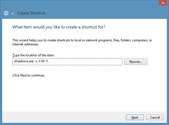Mosaico de apagado de Windows 8 en la imagen de la pantalla de inicio 2