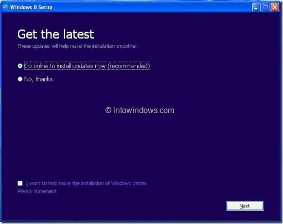 Actualice XP a Windows 8 Step3