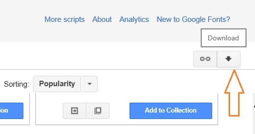 Utilice Google Fonts en Microsoft Office 2010 y 2013 paso 2