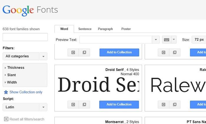 Utilice Google Fonts en Microsoft Office 2010 y 2013 paso 1