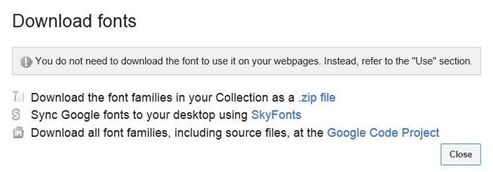 Use Google Fonts en Microsoft Office 2010 y 2013 paso 3