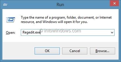 Establecer diferentes colores para la barra de tareas y el borde de la ventana en Windows 8 Paso 1