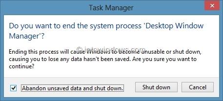 Establecer diferentes colores para la barra de tareas y el borde de la ventana en Windows 8 Paso 4