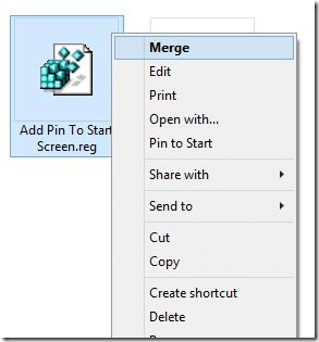 Agregar Pin para iniciar a todos los tipos de archivo en Windows 8.1 Step2