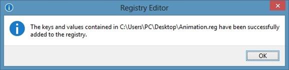 Habilite la animación oculta de la pantalla de inicio en Windows 8 Step2