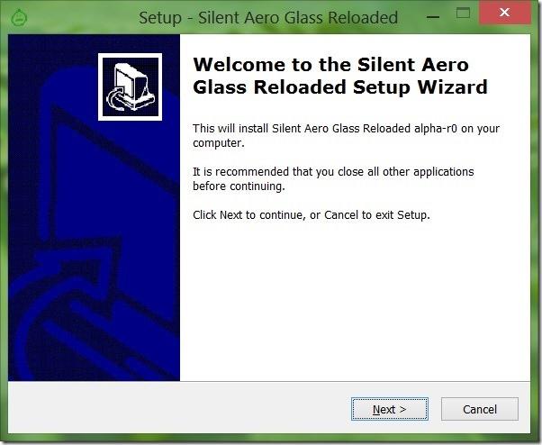 Desactivar la advertencia de demostración de Aero Glass para Windows 8