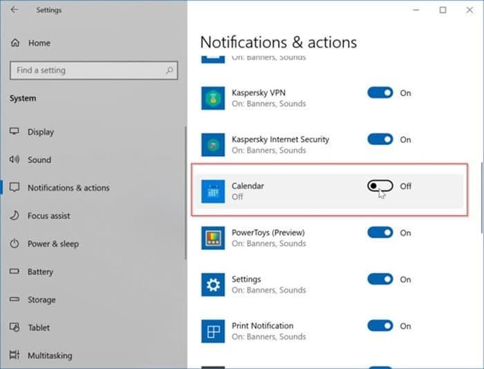 agregar o eliminar recordatorios en el calendario de Windows 10 pic13