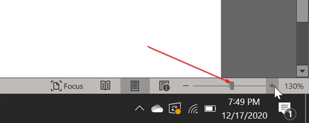 Fix Office Word muestra dos páginas una al lado de la otra pic4