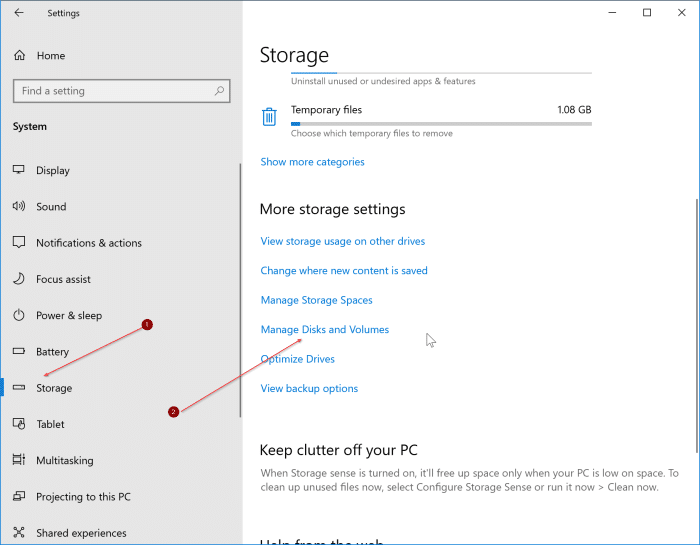 comprobar el estado y temperatura de SSD en Windows 10 pic1