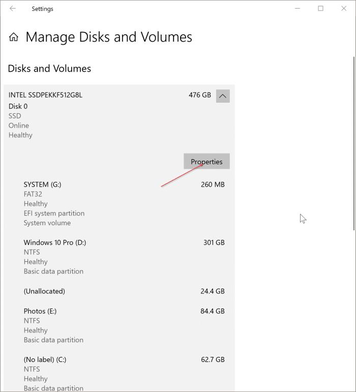 compruebe si su PC tiene NVMe o SATA SSD pic1