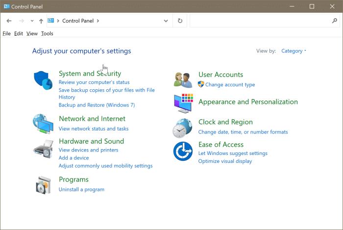 gestión de disco abierto en Windows 10 pic3