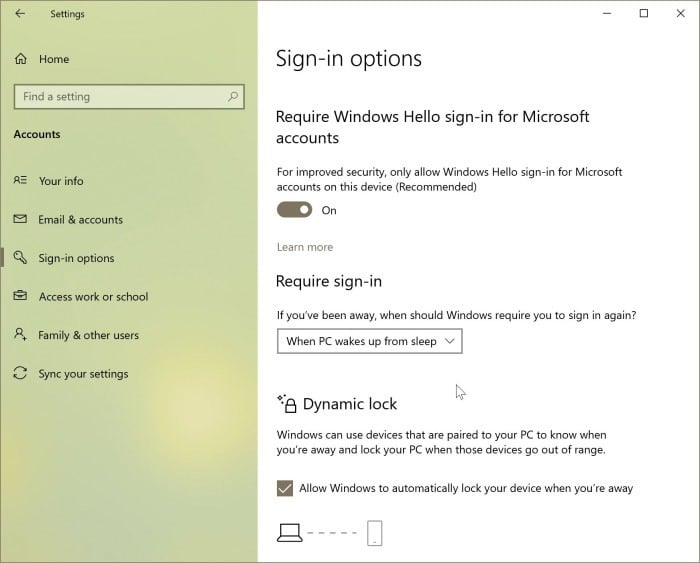 bloquear Windows 10 pc3