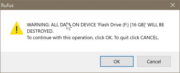 crear Ubuntu Live USB en Windows 10 PC pic2